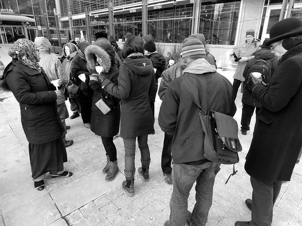 Homeless Memorial Vigil - January 2015