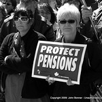 CAW Protect Pensions Rally 150