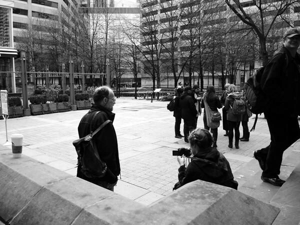 Monthly Homeless Memorial Vigil - April 2014